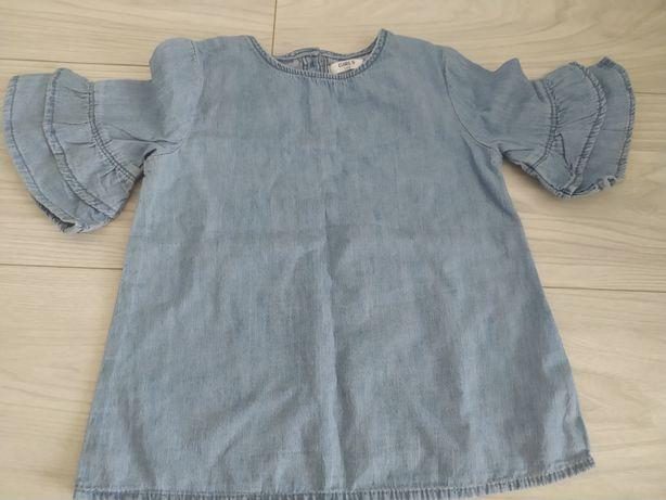 Bluzeczka cienki jeans rozm. 104