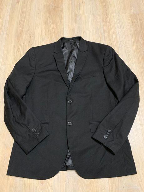 Мужской черный жакет H&M