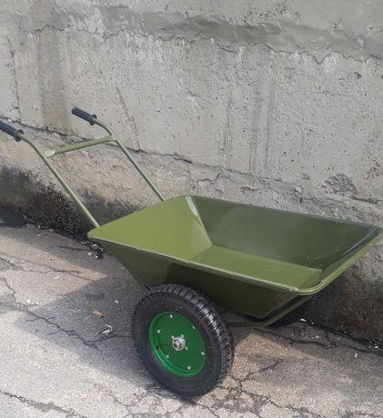 Тачка садово строительная двухколесная ТБ2 тип (АТЕК) колесо 3.50х10