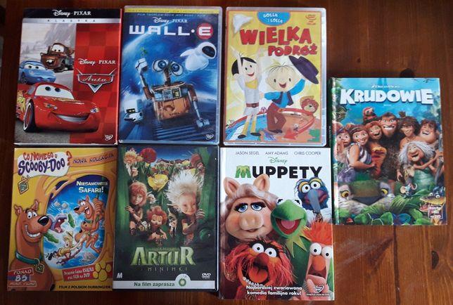 Bajki na DVD Auta Scooby Doo Muppety Krudowie