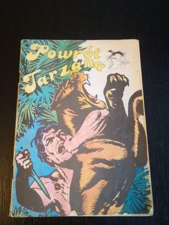 Komiks Powrót Tarzana.