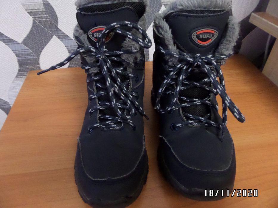 Зимние ботинки 150 гр. Длина стельки 20см. Донецк - изображение 1