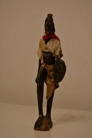 Rzeźba/figurka wojownika / Etiopia