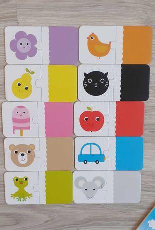 Sprzedam puzzle czuczu kolory