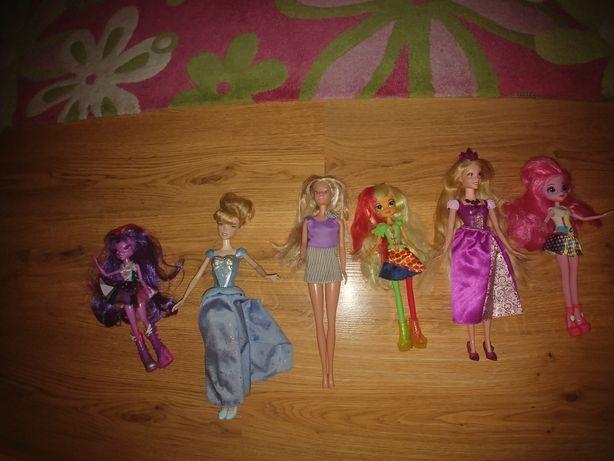Sprzedam oryginalne lalki Barbie - 6 sztuk