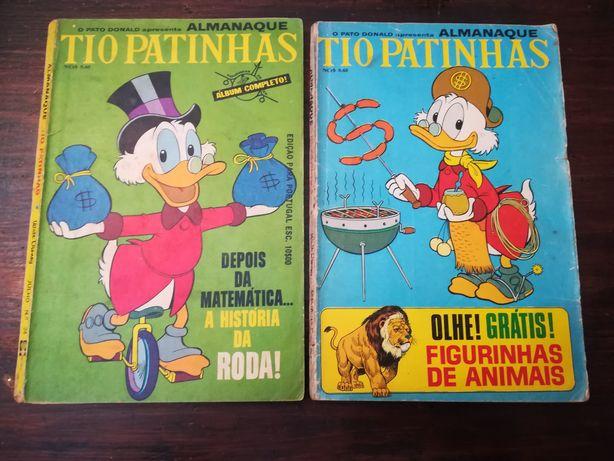 Tio Patinhas n°24 e 25 de 1967