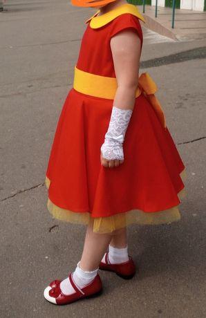 Платье нарядное выпускное стиляги