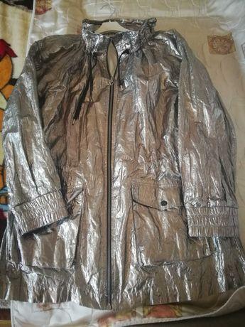 Karl Lagerfeld kurtka srebrna