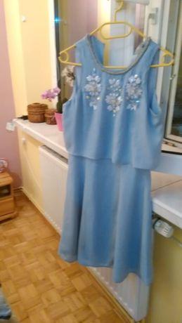 suknia asos zdobiona 36