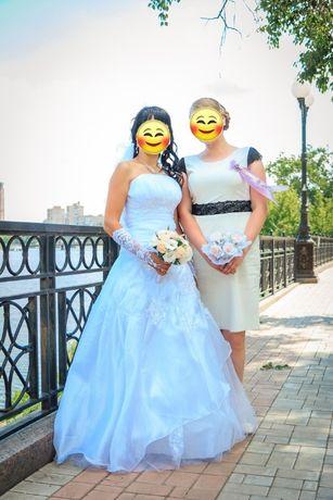 свадебное платье размер 46