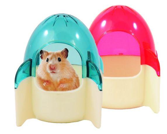 Domek Rakieta dla chomika, myszy myszoskoczka