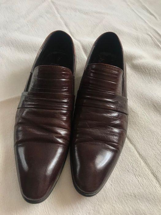 Мужские кожаные туфли Valor Wolf - оригинал!!! Чернобай - изображение 1