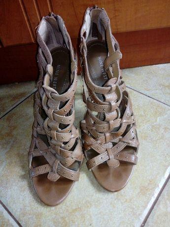 Sandałki sandały na obcasie