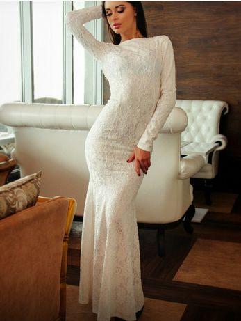 Весільне вечірнє плаття
