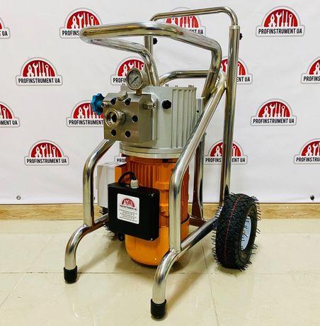 Безвоздушный окрасочный агрегат 8.3л 4500W безвоздушная шпаклевка
