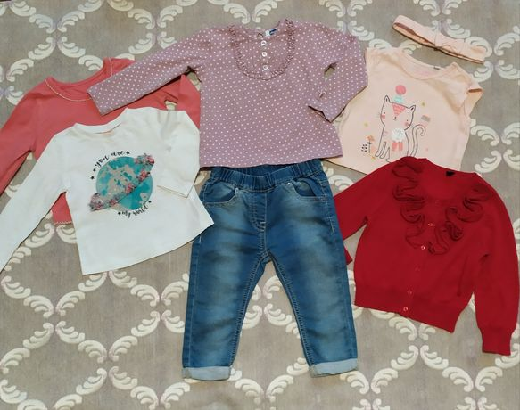 Джинси, кофта, реглан, футболка,zara,h&m,next, george