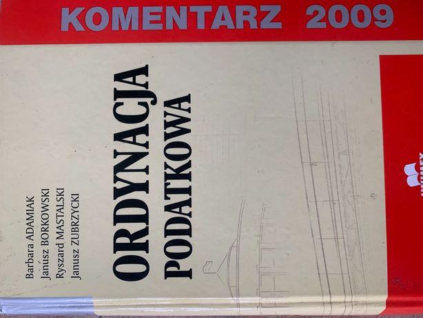 Komentarz do Ordynacji Podatkowej 2009