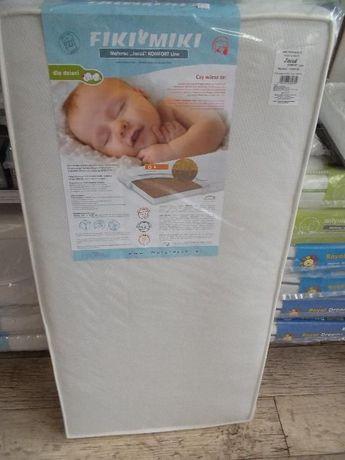 Materac 120x60 Jacuś Komfort Line, NOWY! Sklep BabyBum