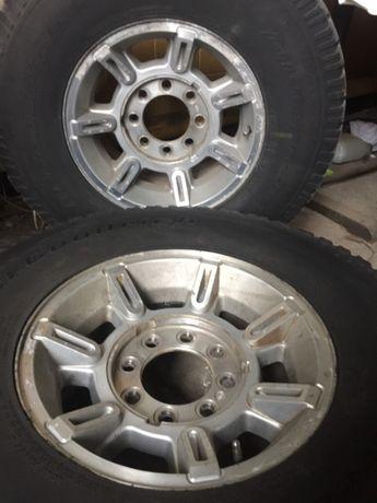 Диск R17 с шиной 315/70/17, колесо в сборе Хаммер Н2 оригинал, GMC