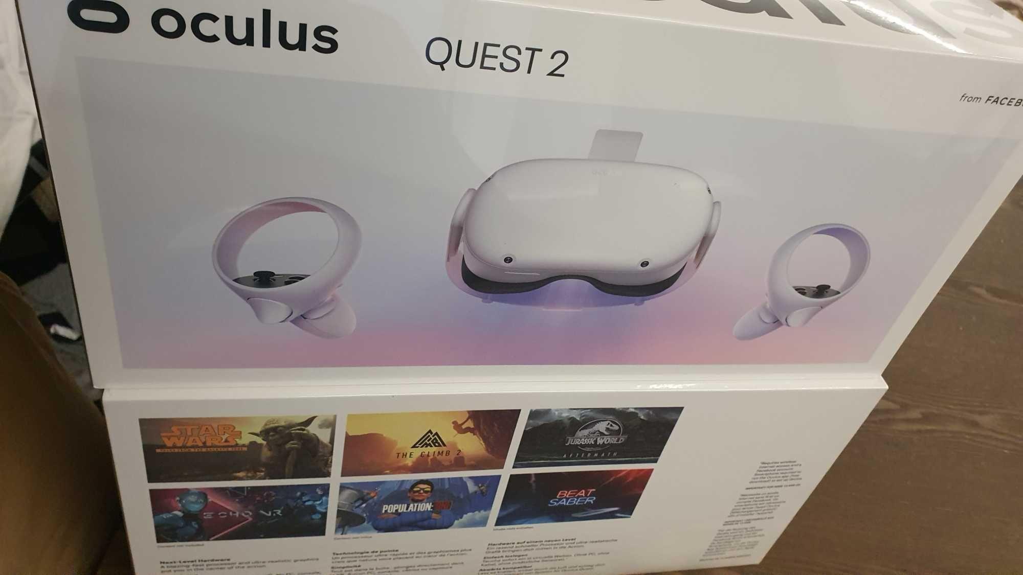 Oculus Quest 2 (VR) 128GB novos com fatura e garantia