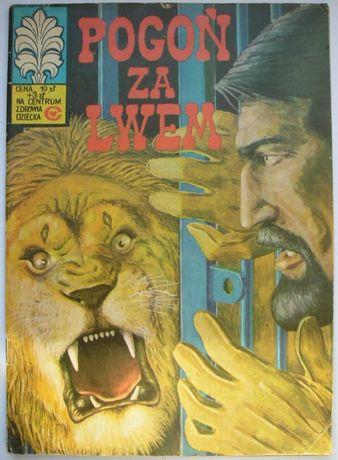 Kapitan Żbik - Pogoń za lwem - 1980 - Bogusław Polch , Wł. Krupka