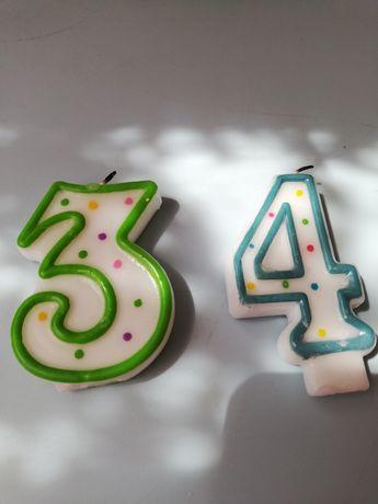 Świeczka urodzinowa cyfra