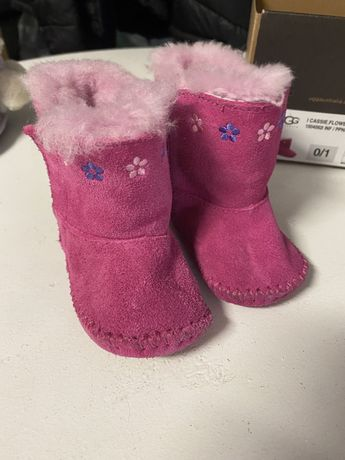 Buty emu dla dziewczynki 0-6 miesięcy  ugg australia