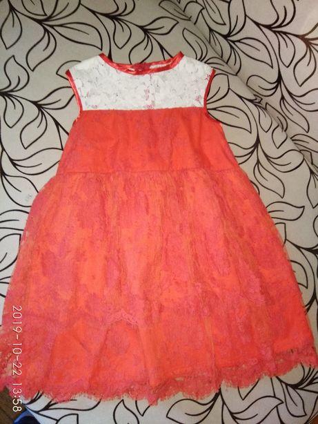 Плаття для дівчинки на зріст до 128 см