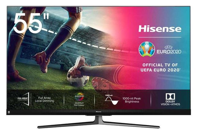 TV Hisense 55U8QF + Full Array + 2 anos GARANTIA + Aceito trocas