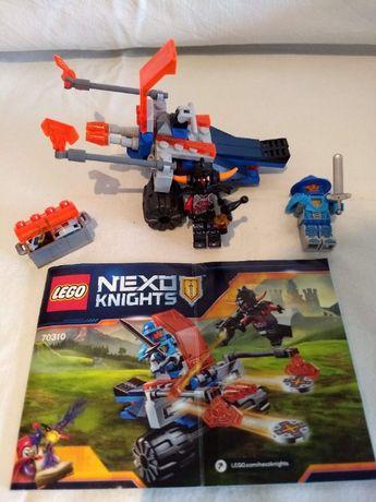 2x LEGO Nexo Knights 70310, 70311, komplet instrukcja bez pudełka