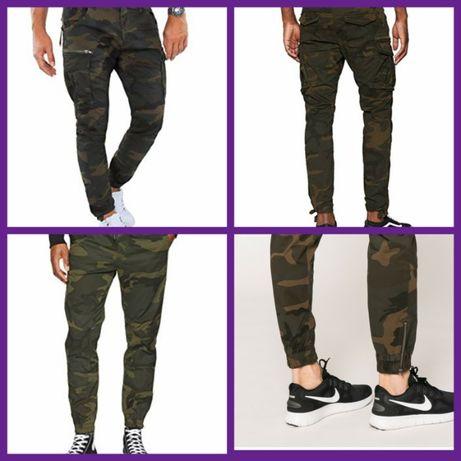 Брюки, штаны, карго, военные мужские, jack & jones штани
