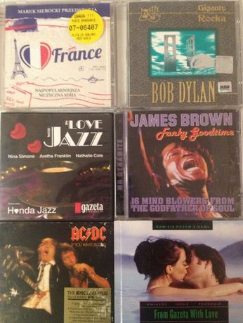 CD Frank Sinatra,Bob Dylan,James Brown,Joe Dassin