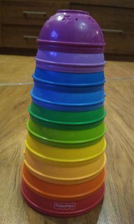 Fisher-Price Okrągłe kubeczki do ustawiania