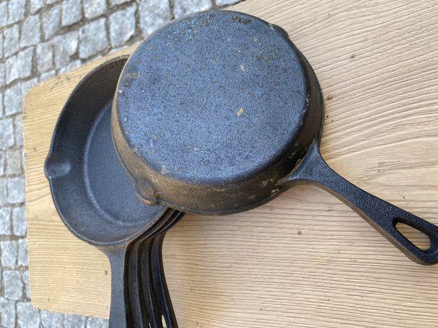 Conjunto 5 figideiras antigas ferro fundido!