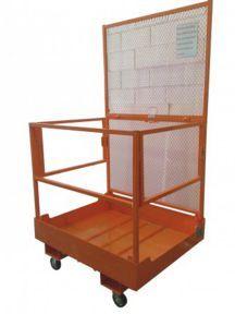 Jaula Plataforma Cesta em rede Sobe Pessoas para empilhador ou Stacker