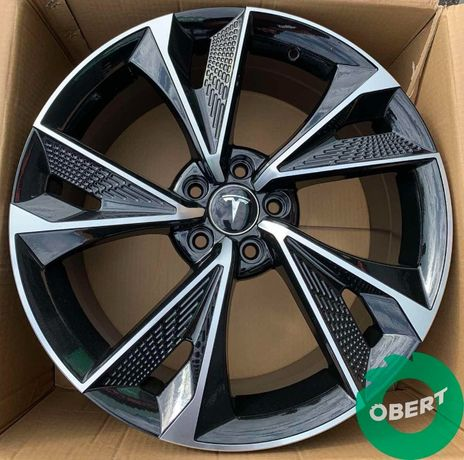 Новые литые диски 5*114.3 R19 на Tesla Model 3