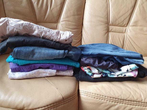 Spodnie ciążowe  L/xl marki h&m 6 sztuk