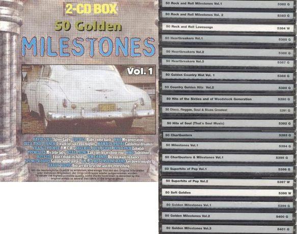Okazja - 40 CD 1000 Milestones Hits 60's 70's