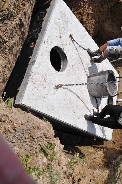 Betonowe zbiorniki na szambo szamba ścieki deszczówkę odchody