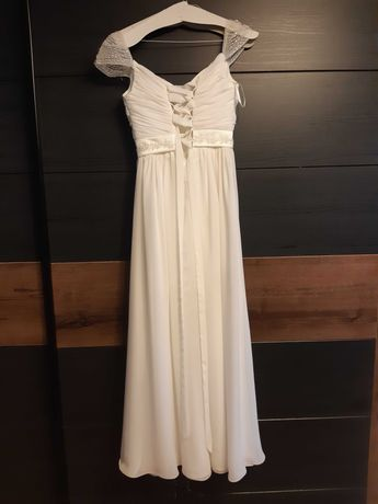Suknia ślubna+bolerko welon
