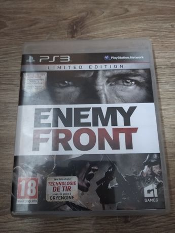 Gra PlayStation 3 ENEMY FRONT Limited Edition PS3