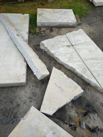 Gruz beton płyty oddam za darmo
