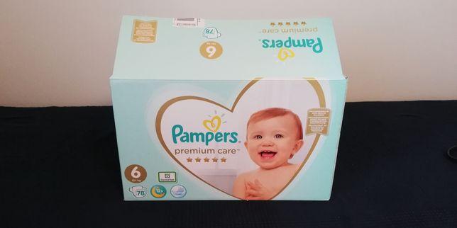 Pampers Premium Care 6 (13 kg +), 77/78 szt