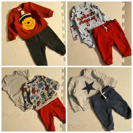 WYPRAWKA - śliczne ubranka dla chłopca 68