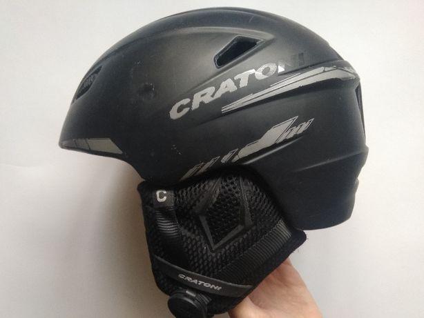 Горнолыжный сноубордический шлем Cratoni Vancouver, размер 54-56см