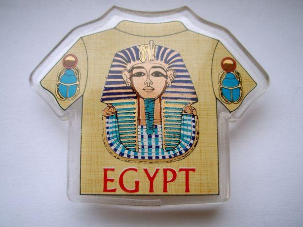 "Магнит ""Egypt"" – Футболка с фараоном | Египет. Cувенир на холодильник"