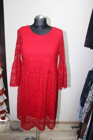 sprzedam czerwoną sukienkę