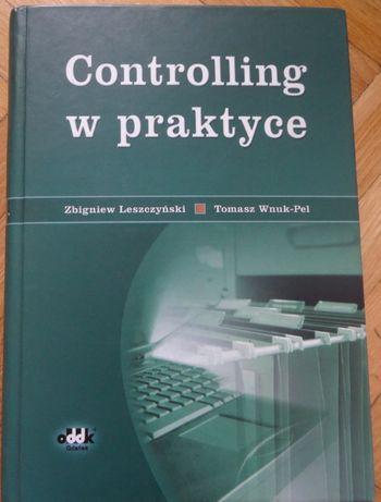 książka podręcznik Controlling w praktyce Z.Leszczyński T.Wnuk-Pel