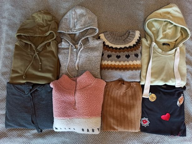 Zestaw ubrań XS/S Zara, H&M/Reserved/Mohito