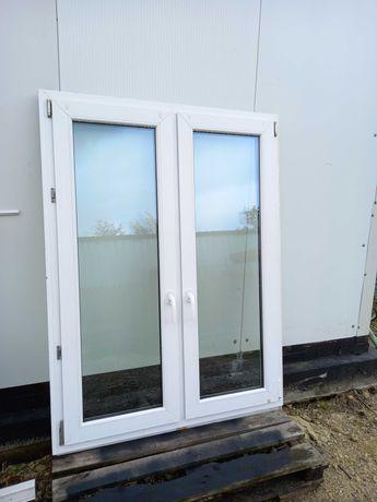 Okno 120x160 Plastik otwierane i uchylne